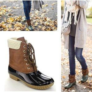 Must Have Black Duck Boots